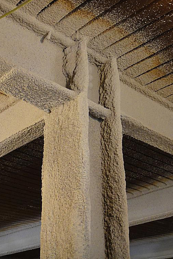 Structural fire proofing coating